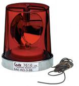Econolite con reflector giratorio, Montaje permanente, Rojo thumbnail