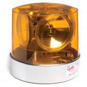 Compact Four Sealed-Beam Roto-Beacon, Amber thumbnail