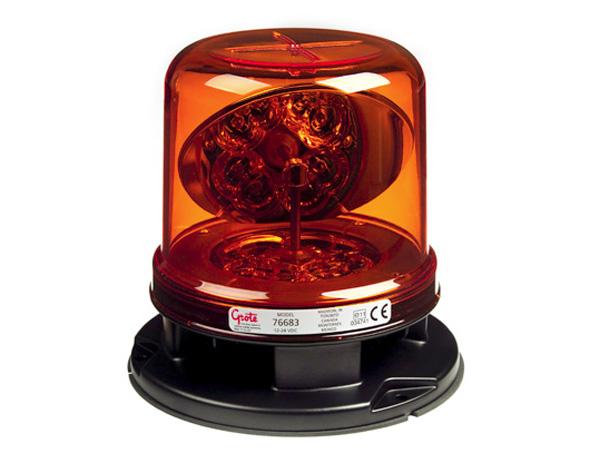 Luz LED híbrida clase I RotoLED™, Ámbar