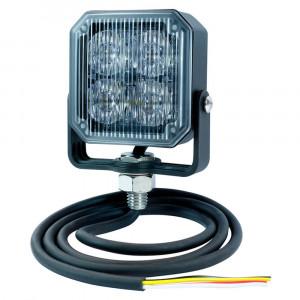 LED-Hilfs-Blitzleuchte, Bernstein