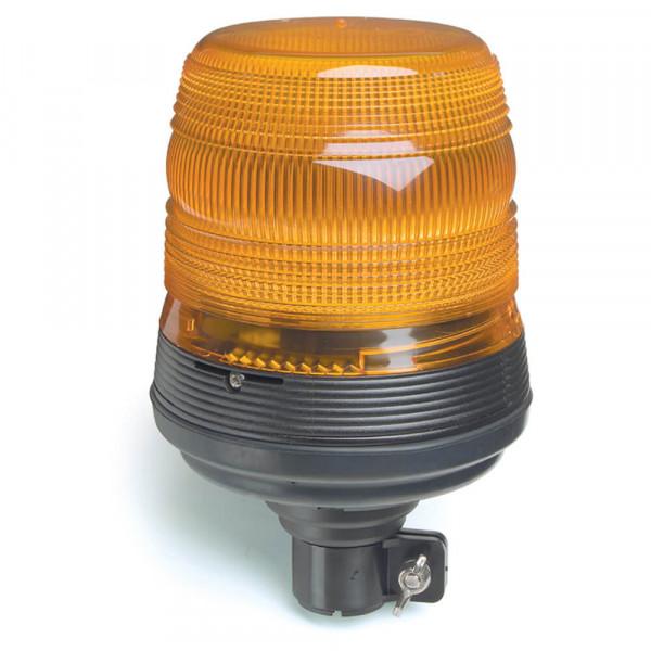 Luz estroboscópica con base flexible, Amarillo