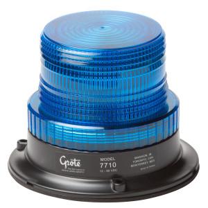 miniluz estroboscópica de gran potencia, Un solo destello, azul
