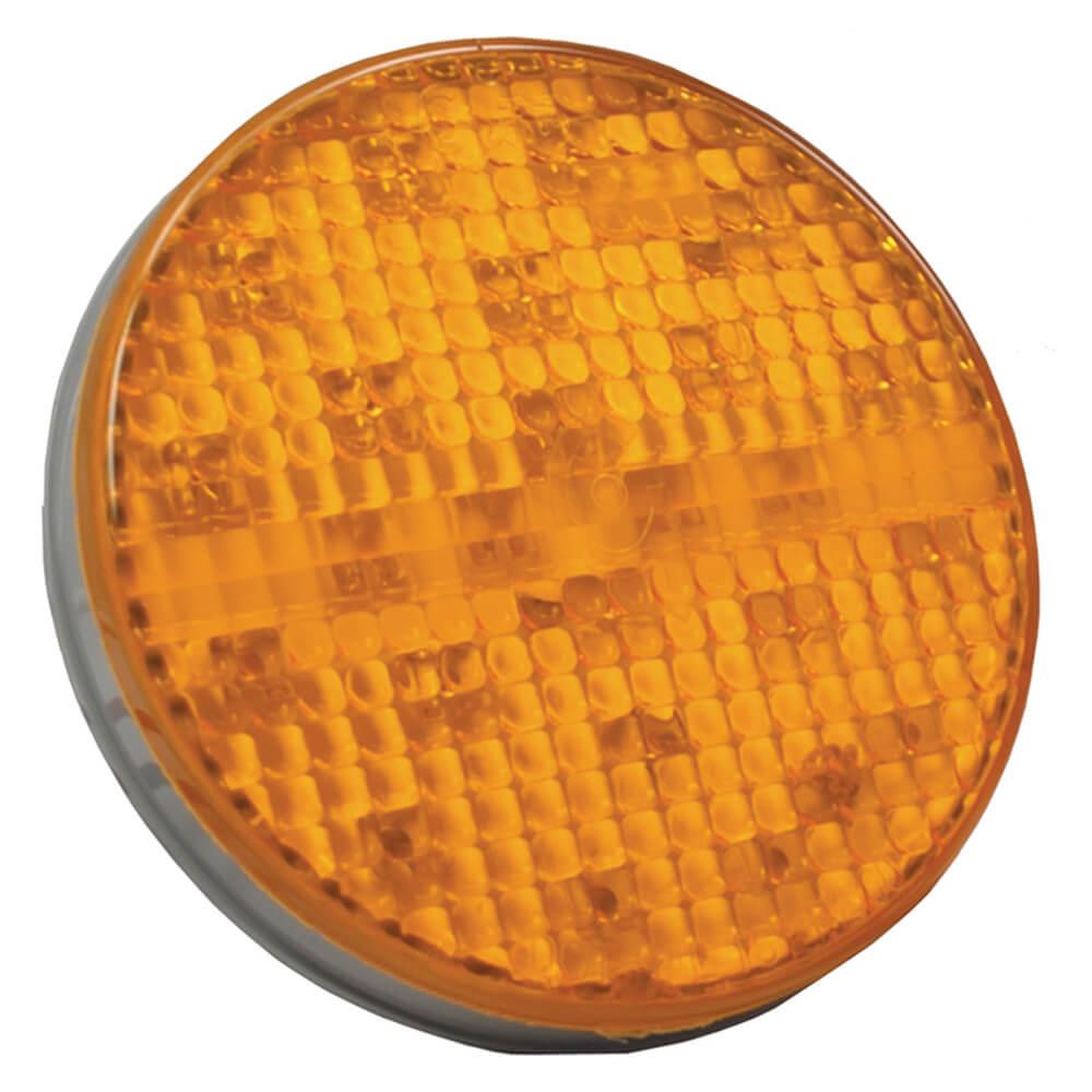 "Luces LED estroboscópicas, 4"", Amarillo"