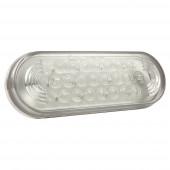 Oval LED Strobe Lights, Clear thumbnail