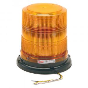 LED-Blitzleuchten mit hohem Profil, Klasse II, Bernstein