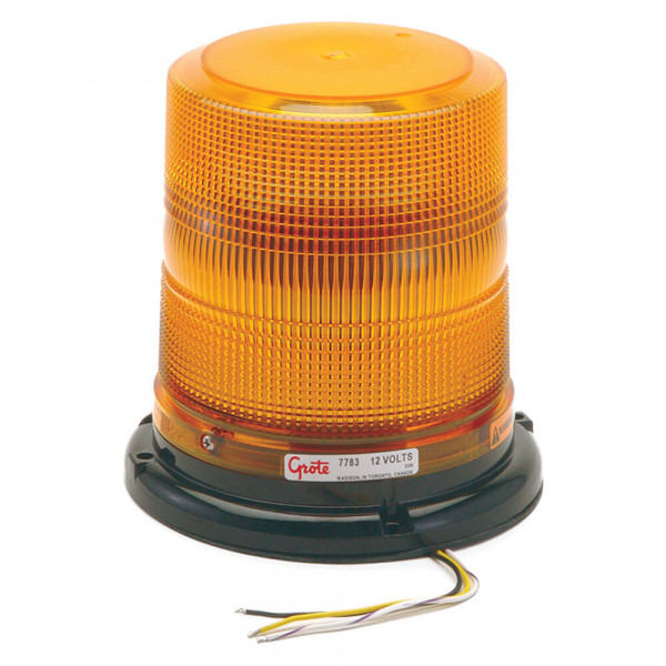 Luz LED estroboscópica de perfil alto clase II, Amarillo