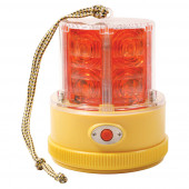 360° Portable Battery Operated LED Warning Light, Red thumbnail