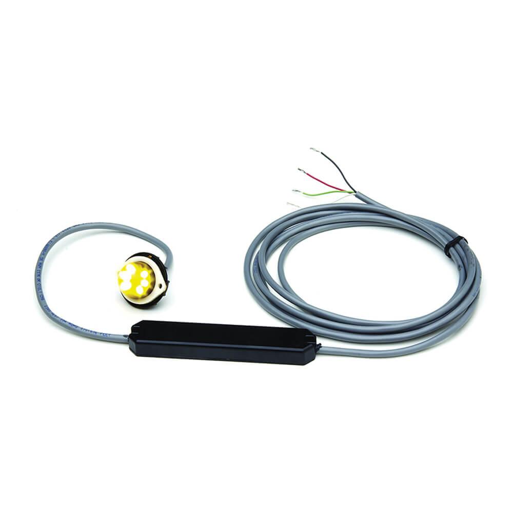 Luz LED estroboscópica oculta Vertex™, Amarillo