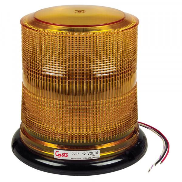 Yellow High Profile LED Beacon