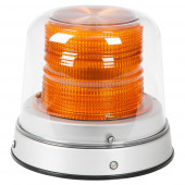 Amber LED Beacon with Clear Dome thumbnail
