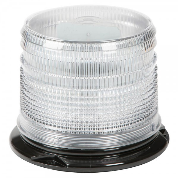 Amber LED Beacon with Clear Lens