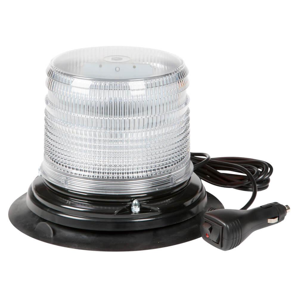 Vacuum Mount White LED Beacon