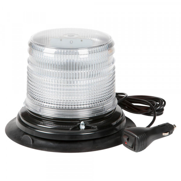 Vacuum Mount White LED Beacon