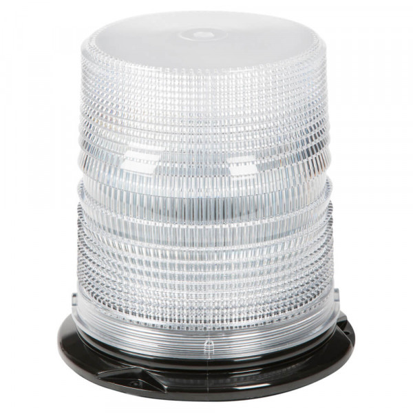 Dual Color LED Beacon with Clear Lens