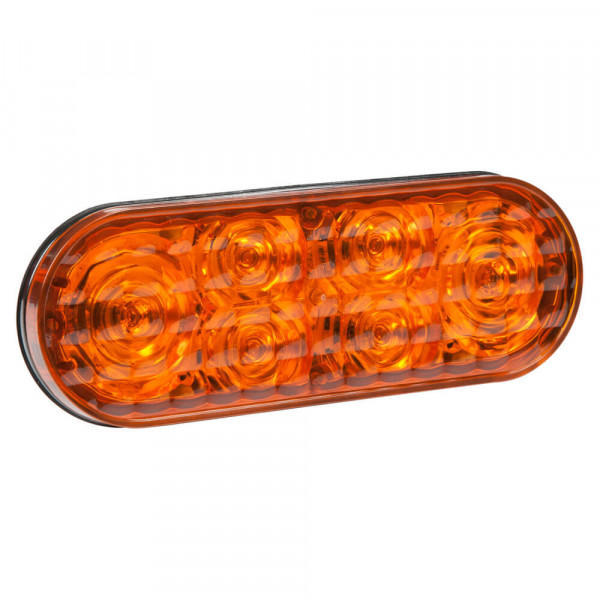 "6"" Oval LED Strobe Light"