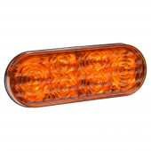 Amber LED Strobe Light for Warning and Hazard Vehicles