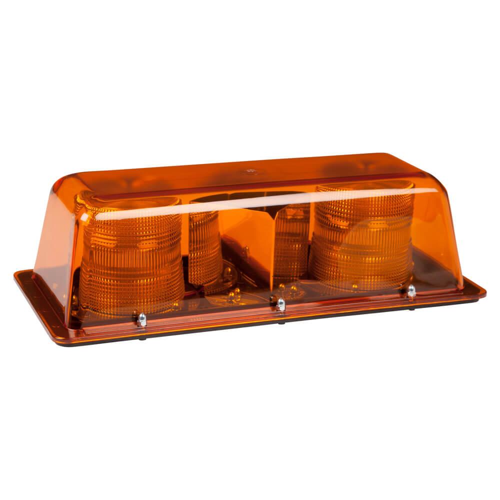Tira de luz LED estroboscópica dual