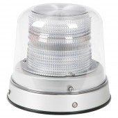 LED Beacon with clear dome