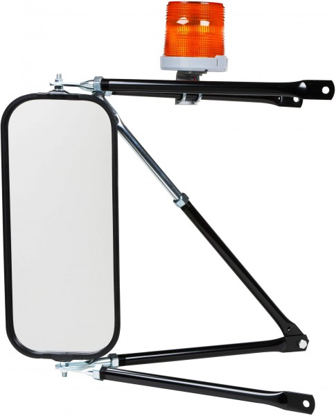 Grote LED Beacon mounted on mirror