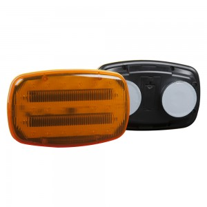 LED Magnetic Warning Lamp Amber 79203-5 multi-view