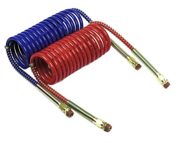 Boyaux à air torsadés, Rouge et bleu, paquet de 2