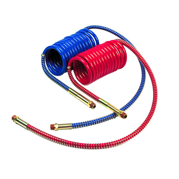 "Low Temperature Coiled Air, Working Length 15', Leads 12"" & 40"", 2pk"
