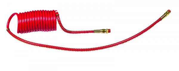 """Coiled Air, Working Length 15', Leads 12"""" & 40"""", 1pk"""
