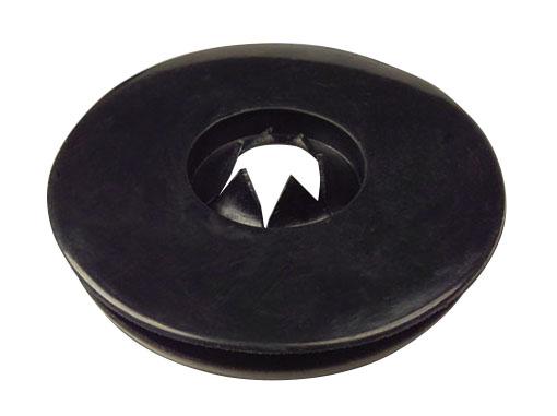 Black rubber seal