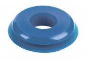Seals, Polyurethane, Large Face, Blue, 8pk