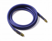 Rubber Air Lines, Length 12', Blue
