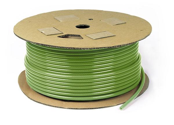 100 feet of Green Air Brake Tubing