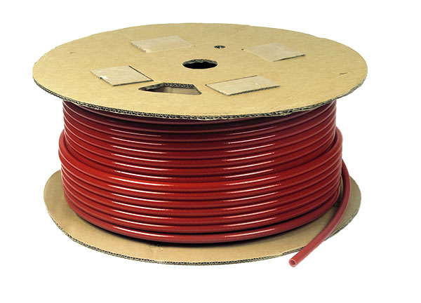 Red Air Brake Tubing
