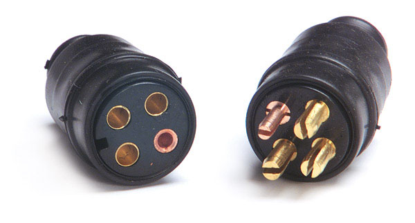 3 Conductor Molded Connector Assembly
