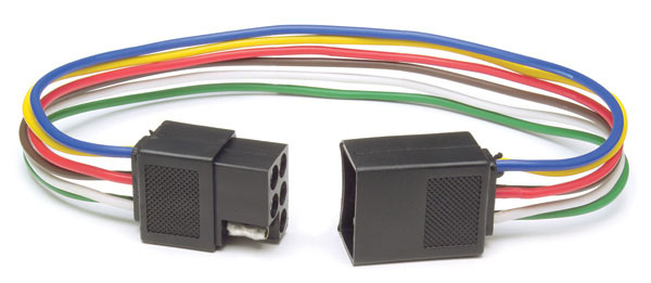 Square Female & Male Trailer Connector