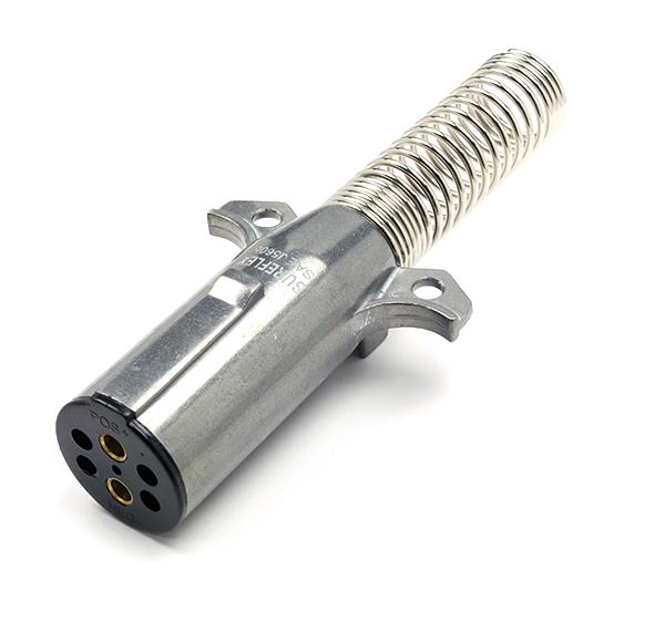 Heavy Duty 2-Way Socket & Plug Connector Spring 24 Volt