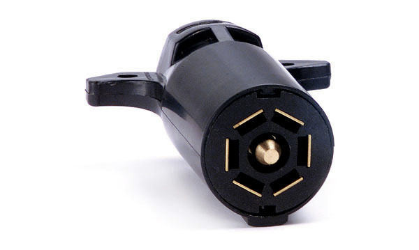 Heavy Duty 7-Way High Impact Plug