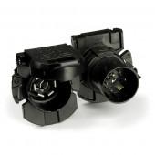 "Heavy Duty 7-Way Socket & Plug Connectors, ""Twist & Lock"" RV Socket, Sealed thumbnail"