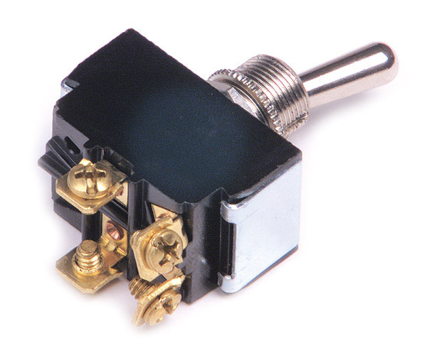 Heavy Duty 4 Screw 15 Amp On/Off Toggle Switch