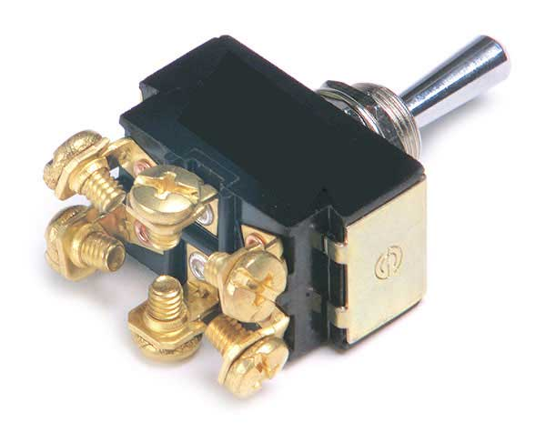 Momentary Mom On/Off/Mom On 20 Amp 6 Screw Toggle Switch