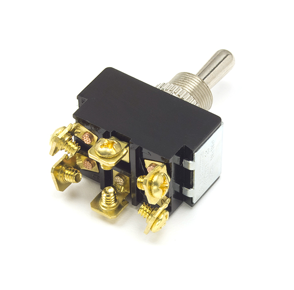 Heavy Duty 20 Amp 6 Screw On/Off Toggle Switch