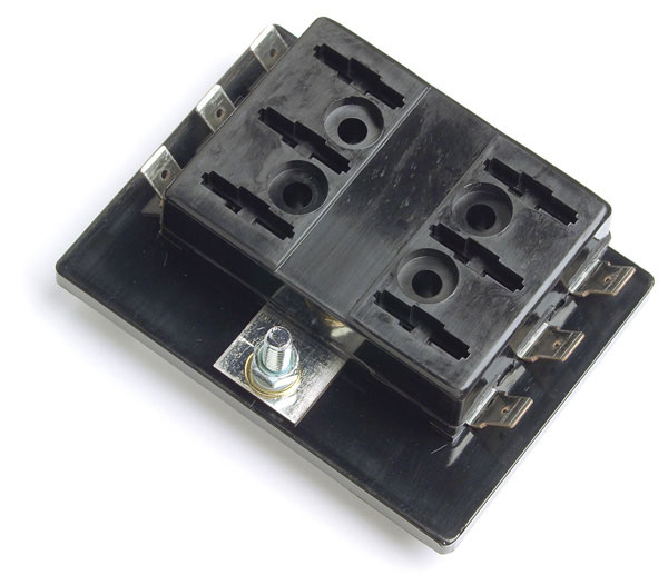 six position fuse panel