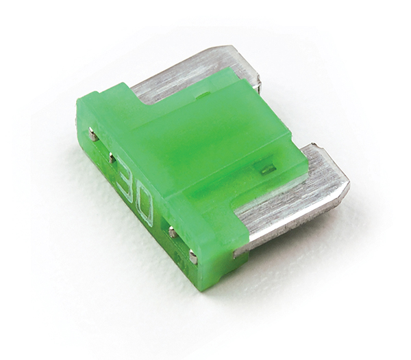 Green Low Profile MINI®/ATM Blade Fuse