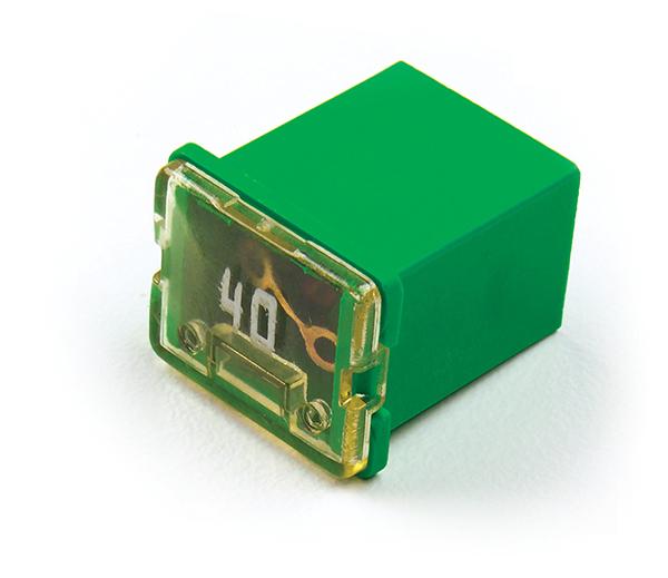 Green Low Profile Cartridge Fuse