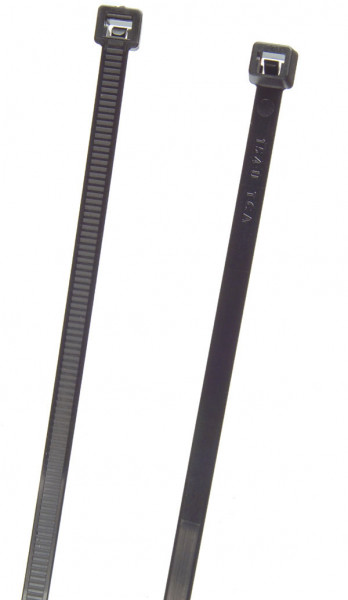 "Black 6"" Standard Duty Cable Ties"
