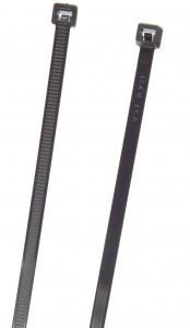 """Black 8"""" Standard Duty 100 Pack Tie Fastener"""