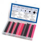 Red & Black 3:1 Tubing Kit