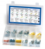 Crimp Solder and Seal Terminal And Connector Assortment Kit