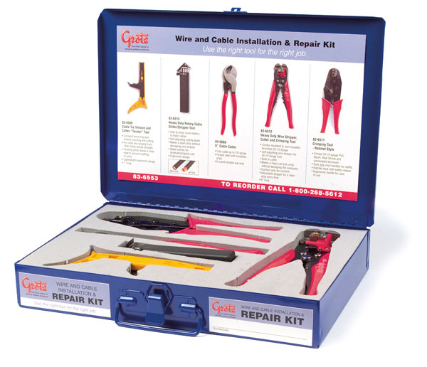 Wire & Cable Installation & Repair Tool Kit