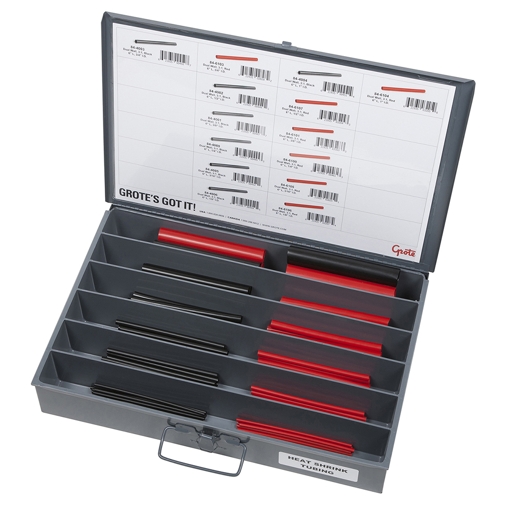 Heat Shrink Tubing Assortment Tray