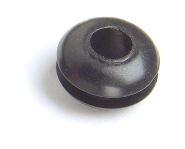 """1/4"""" Black Rubber Grommet"""